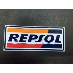 """ADESIVO """"REPSOL"""" 10X 4 CM (3 PEZZI)"""
