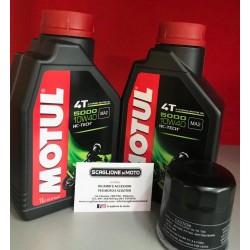 OLIO MOTORE MOTUL (2 LITRI) + FILTRO OLIO PER HONDA SH 300